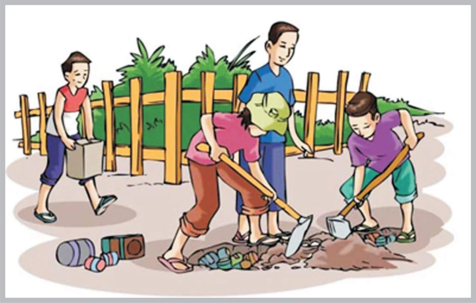 Kewajiban Masyarakat dalam menjaga lingkungan