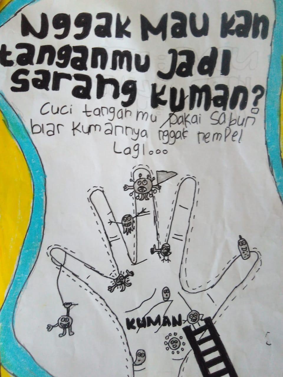 poster anak tema kesehatan