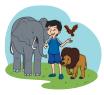 Bacaan Harimau Masuk Desa pemburu
