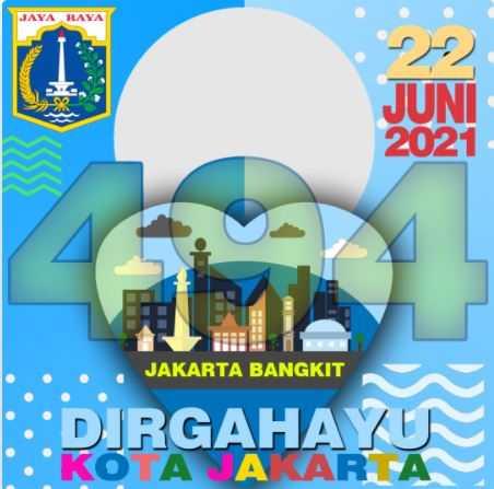 Twibbon HUT DKI Jakarta 2021 link 1
