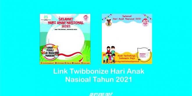 Twibbonize Hari Anak Nasional 2021